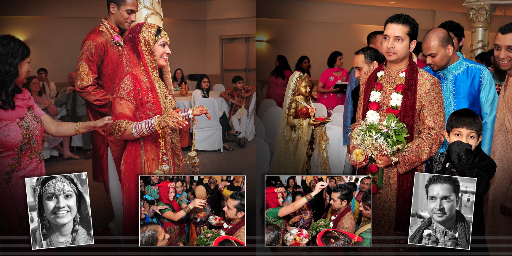 indian marriage photos album