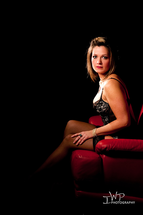 Boudoir and glamour erotic photography